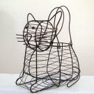 Cat Shape Wire Egg Basket