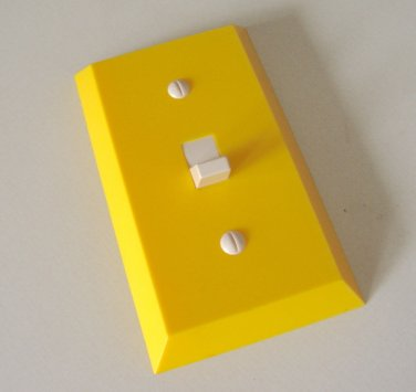 Vintage Plastic Switch Plate Cover