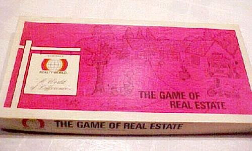 Vintage 1979 The Game of Real Estate Board Game