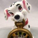 101 Dalmatians Miniature Clock 81-9706 Fantasma & Dalmatian Pencil Sharpener