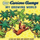 Curious Baby My Growing World Fold Out Book & Growth Chart
