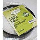 New -  Crucial Vacuum Dirt Devil F8 HEPA Filter Set of 3