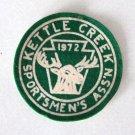 Vintage 1972 Kettle Creek Sportsmen's Ass'n Patch