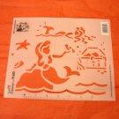 Vintage 1992 Simply Stencils By Plaid Enterprises - Set of 8 Designs