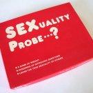 Vintage 1986 Gio Enterprises SEXuality Probe...? Game