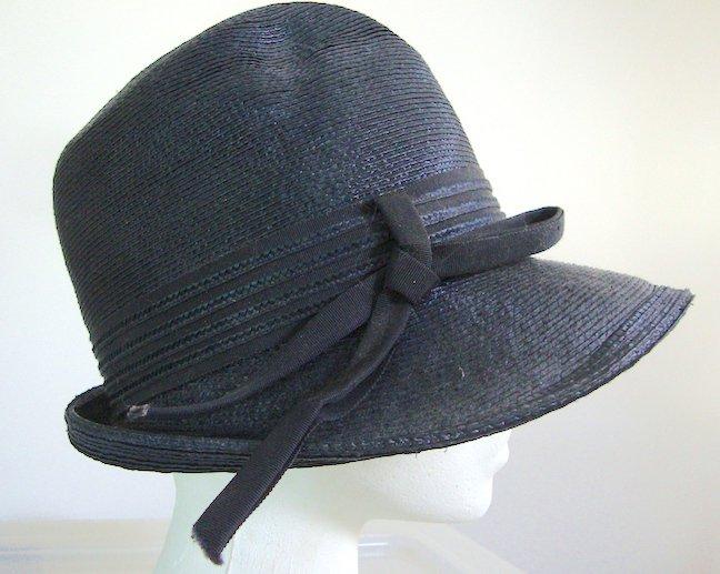 Vintage Coralie Straw Hat