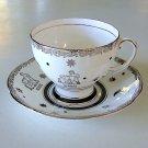 Vintage Royal Standard Bone China Gemini Cup and Saucer