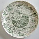 Vintage 1957 Arcade New York Sesquicentennial Celebration Plate