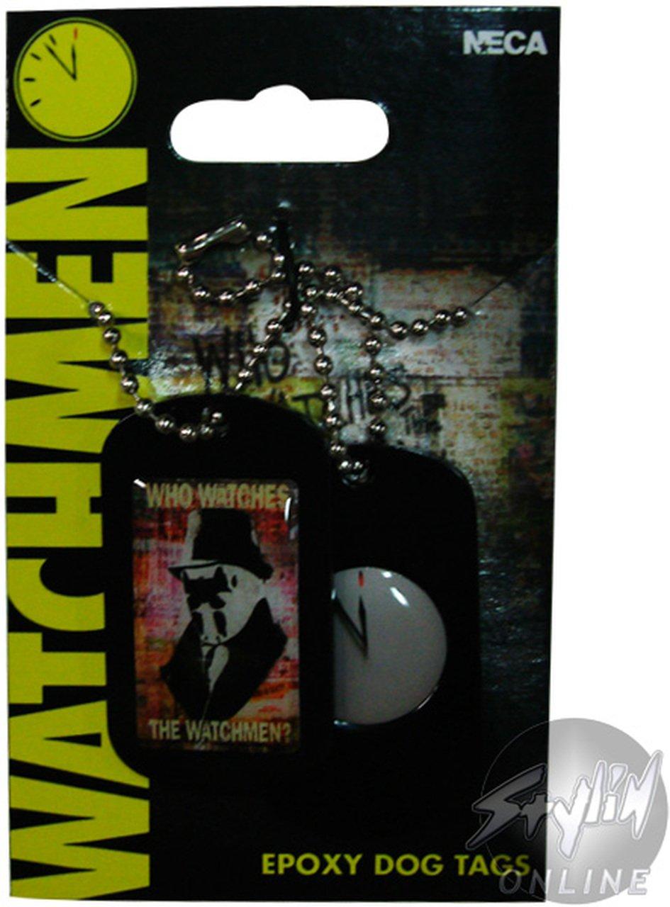 Vintage Watchmen Dog Tags � Rorschach