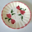 Vintage Blue Ridge Handpainted 3695 Amarylis Bread/Dessert Plate Set of 3