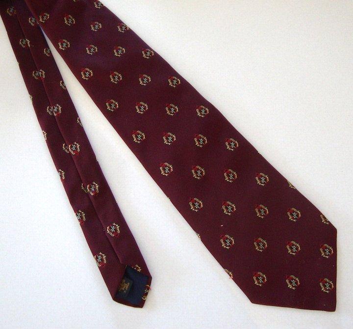 Vintage Men's Ties - Kleinhans and the Totes tie