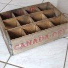 Vintage Canada Dry Wooden Crate - Buffalo NY