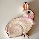 Vintage Dimensional Rabbit / Bunny Candy Box