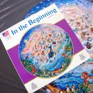 1993 IN THE BEGINNING Bill Bell Round Jigsaw Puzzle - Used