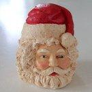 Vintage Hand-painted Santa Head - John Pleasants #6249