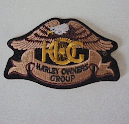 Harley Davidson Owners Group HOG Embroidered Eagle Logo Emblem / Patch