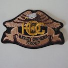 Harley Davidson Owners Group HOG Embroidered Eagle Logo Emblem / Patch
