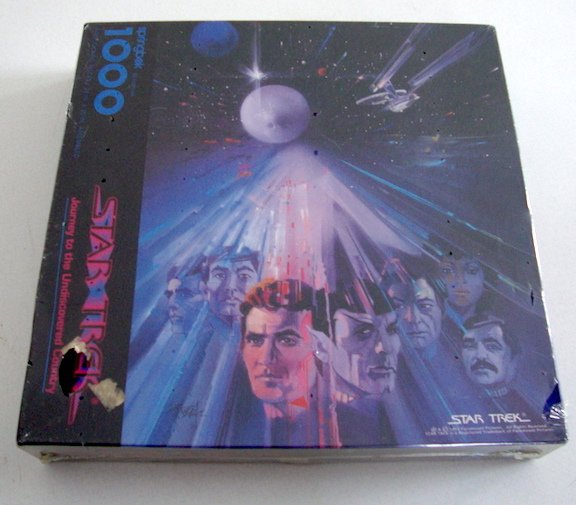 Vintage Star Trek Journey to the Undiscovered Country NIB 1000 Pc Puzzle SEALED