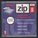 Vintage Iomega ZIP 100 PC Formatted 100Mb ZIP Disk With Jewel Case