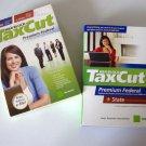 Vintage 2008, 2007 H&R Block TaxCut Federal / State Program - PC & MacOS