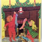 Vintage 1973 Rainbow Works Extra Thick Frame-Tray Getting Ready for Santa #75900-1