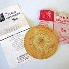 Vintage Birns & Sawyer Cine Calculator - 16mm
