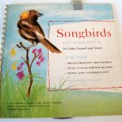 Vintage 1954 Songbirds of America Cornell Laboratory of Ornithology Book & Record