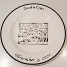 Toast n' Toles Tom Toles Buffalo News Souvenir Plate 2001