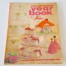 Vintage 1973 Wilton Cake & Food Decorating Year Book plus Wilton Teen Swingers Sock Hop Dancers
