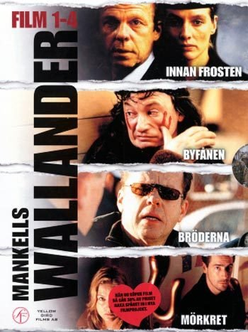 Wallander 1-4 movie box (English subtitles) R2 New DVD