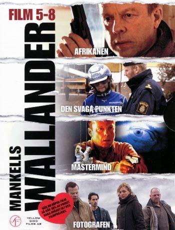 Wallander 5-8 movie box (English subtitles) R2 New DVD