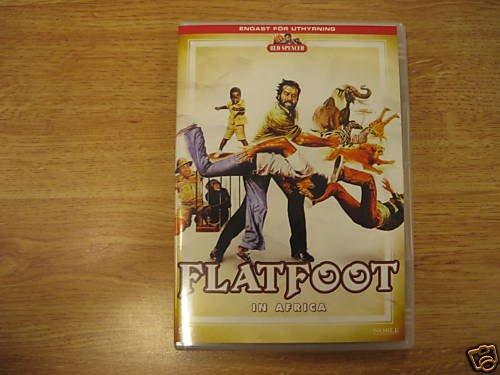 Flatfoot in Africa (1978, Bud Spencer) RARE NEW R2 DVD