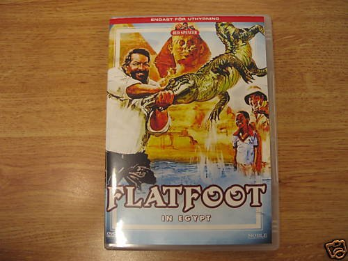 Flatfoot in Egypt (1979, Bud Spencer) RARE NEW R2 DVD