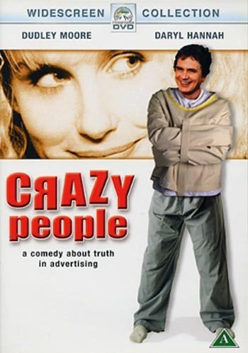 Crazy People (1990, Dudley Moore) R2 PAL New DVD