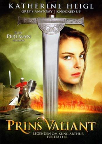 Prince Valiant (1997, Katherine Heigl) R2 New DVD