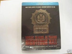 Righteous Kill Ltd ed Steelbook - De Niro New Blu-ray