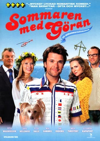 Summer with Goran (2009 Sommaren med Göran) NEW R2 DVD
