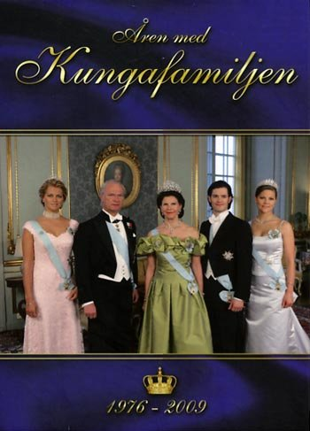 The Years with the Swedish Royal Family 3-Disc NEW DVD