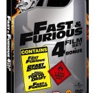 Fast & Furious 4 film set steelbook 5-disc R2 New DVD