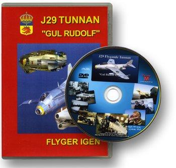 """The SAAB29 Tunnan """"Gul Rudolf flies again"""" New DVD"""