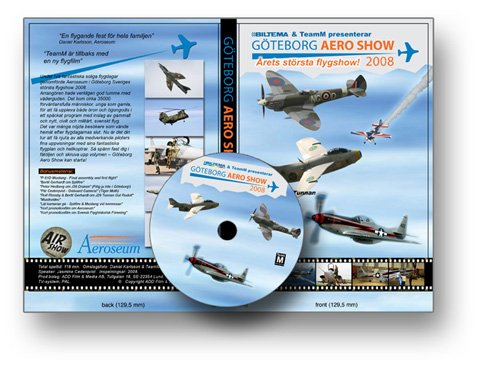 THE GOTHENBORG AERO SHOW 2008 New DVD