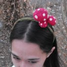 Mossy Magic Mushroom Handcrafted Headband