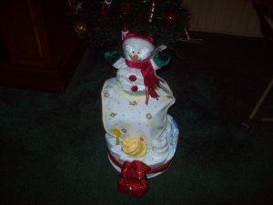 DIAPER CAKE FOR WINTER BABY