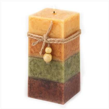 Golden Spice Classic Square Candle