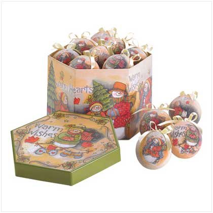 Warm Wishes Boxed Ornament Set
