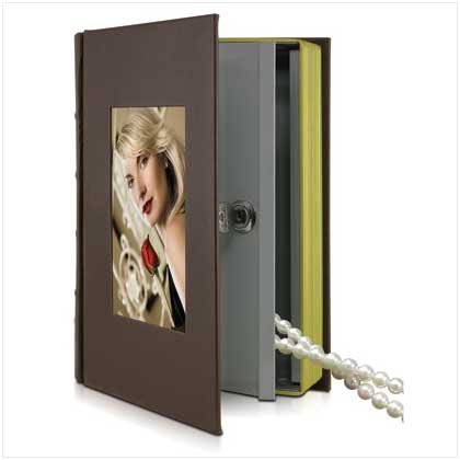 Photo Box Book Safe