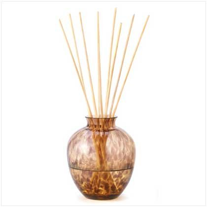 Leopard Glass Reed Diffuser