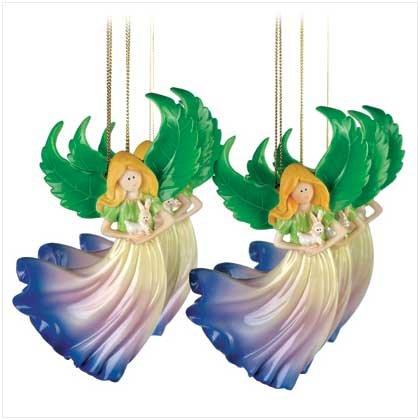 Blossom Angel Ornaments