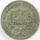 Africa West 1972 50 francs #2