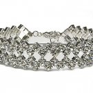 Huge Brilliant Austrian Crystal Boutique Bracelet - FREE SHIPPING